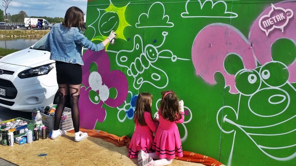 Pokaz malowanie aerografem