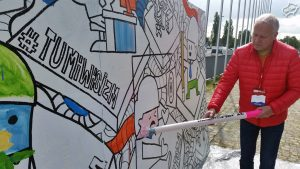 Malarski gigant graffiti 2