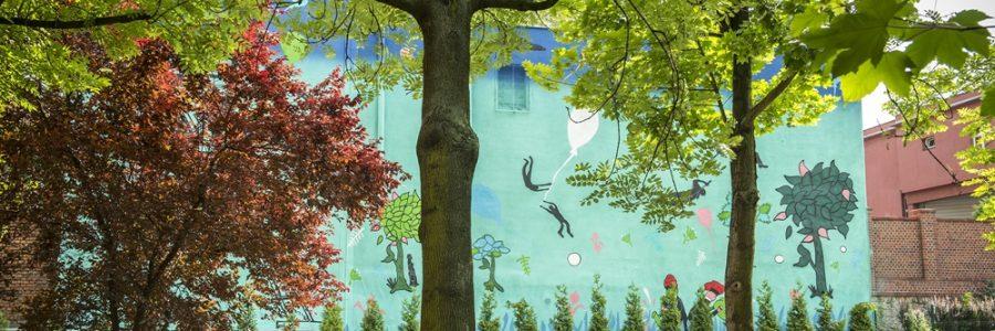 Grafika na ścianie – pomysł na unikalne wnętrza