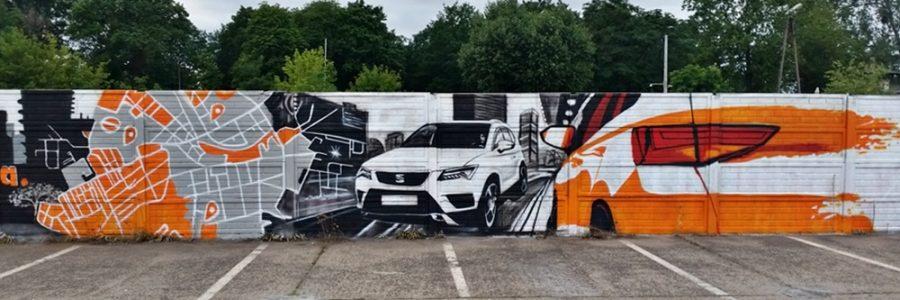 Malowidła na murach – graffiti może być sztuką