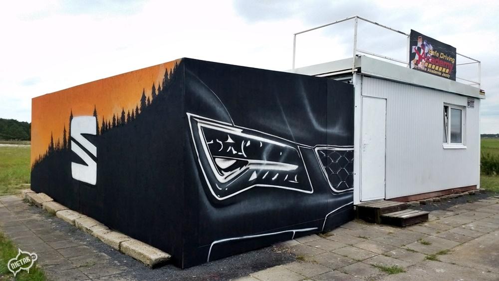 Graffiti Nietak, Seat