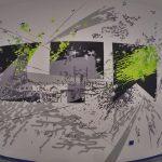 Sala konferencyjna graffiti projekt