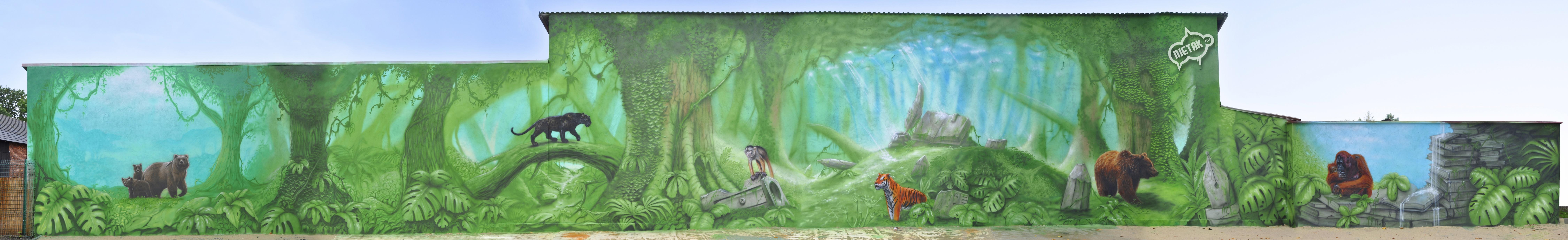 Mural szkoła 1-1
