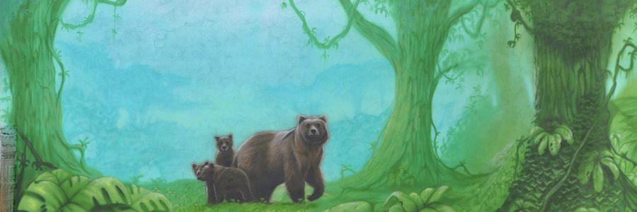 Mural na szkole
