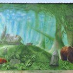 Mural szkoła 1-4