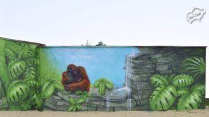 Mural szkoła 1-5