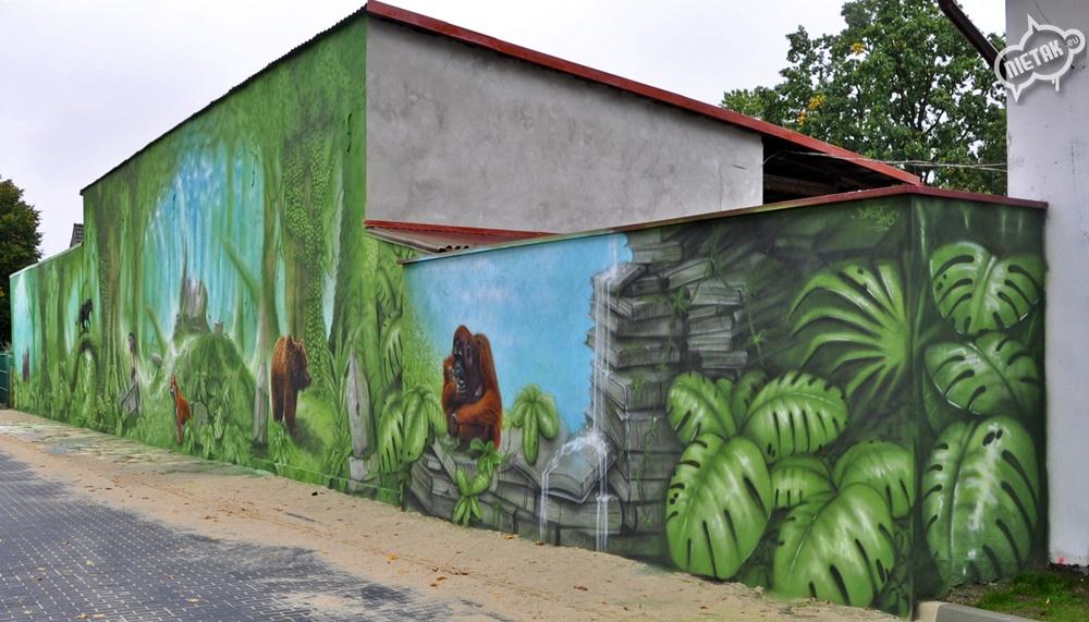 Mural szkoła 1-6