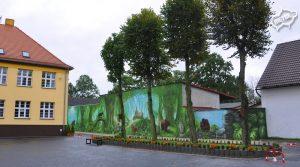 Mural szkoła 1-7