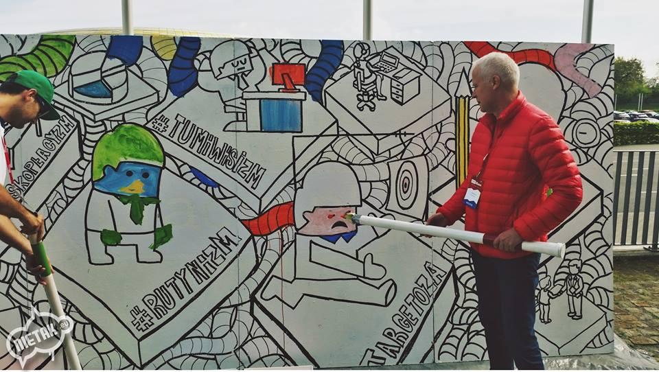 warsztaty graffiti dla seniorów