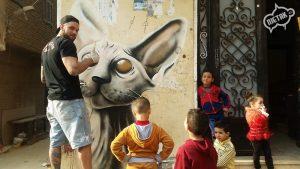 Graffiti Kair 2016 Łukasz 3