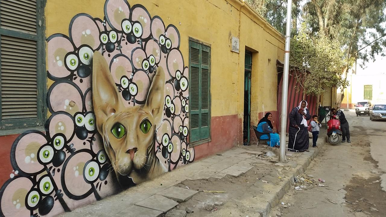 Graffiti Kair 2016 Łukasz 7