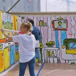 5 Malarstwo street art, warsztaty dla dzieci, nietak graffiti