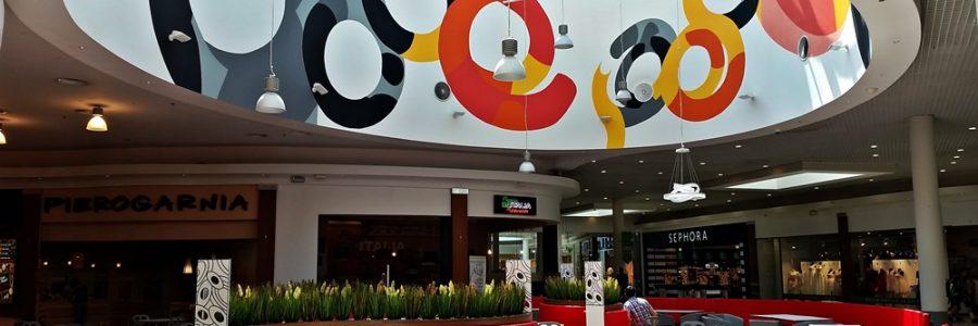 Malowanie w Centrum Handlowym