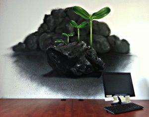 Dekoracyjne malowanie biur