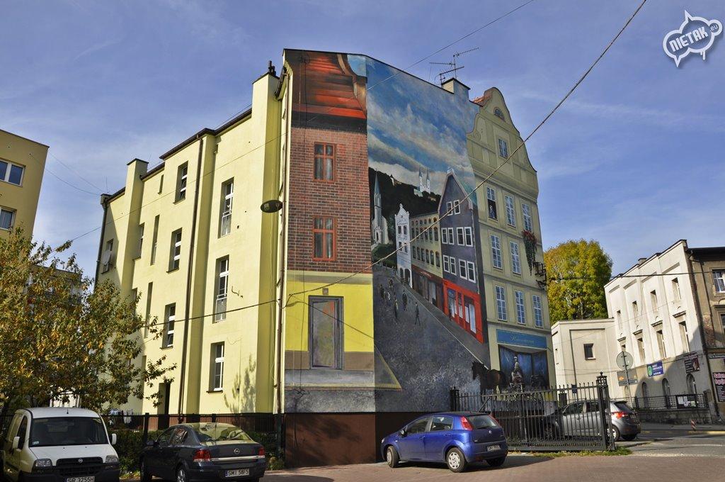 mural w mikołowie, nietak, malowanie artystyczne 4