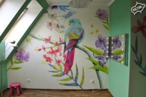 1. Malowanie pokoju dla dziecka