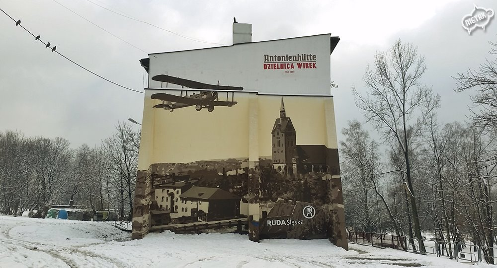 Mural historyczny - Nietak.eu