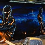 4. Graffiti w kręgielni - Nietak.eu