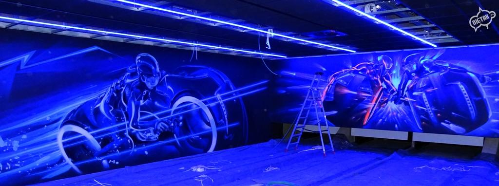 6. Graffiti w kręgielni - Nietak.eu