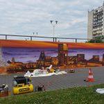 Mural Jastrzębska spółka węglowa JSW - nietak.eu