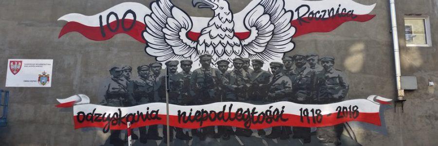 Mural Niepodległościowy w Kępnie