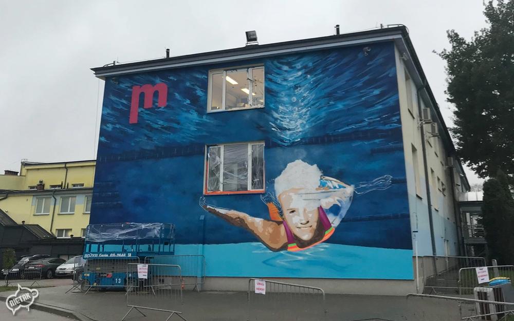 Mural w Białymstoku, Białystok Mural, Graffiti w Białymstoku - Nietak.eu