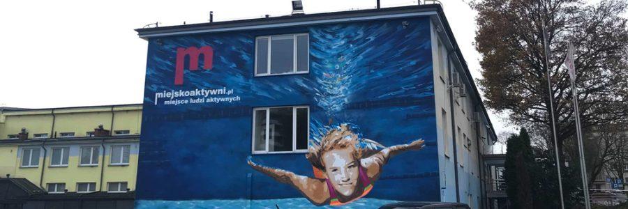 Mural w Białymstoku