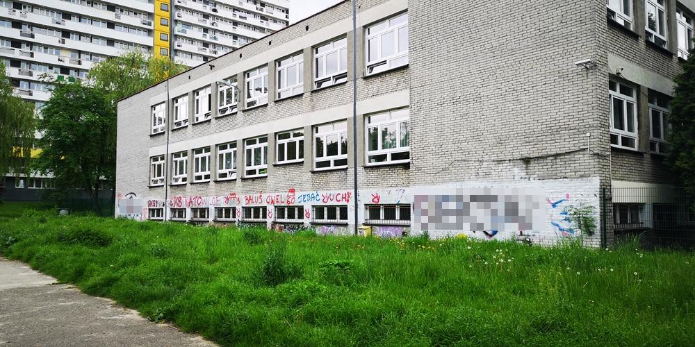 Mural na szkole Podstawowej nr 59 im. Jana Matejki w Katowicach - Nietak.eu