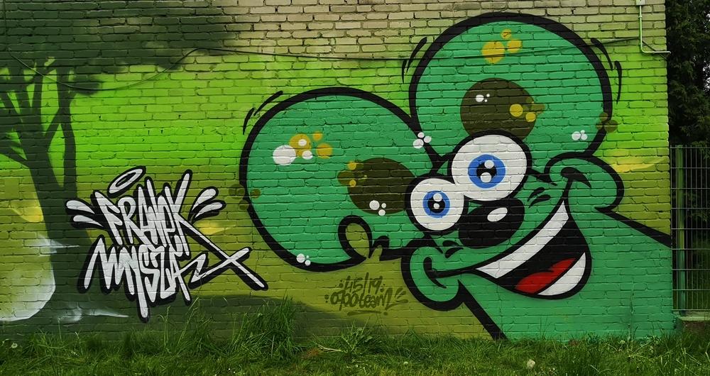 Mural dla szkoły Podstawowej nr 59 w Katowicach - Nietak.eu