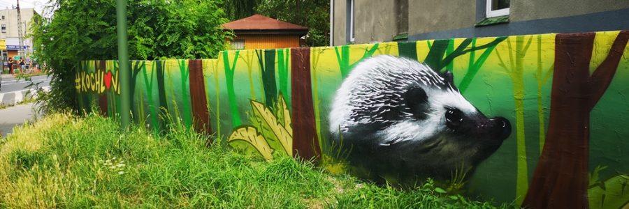 Mural przyrodniczy w Kochłowicach
