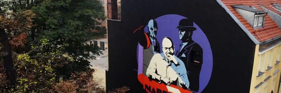 """Mural dla wydawnictwa """"ZNAK"""" we Wrocławiu"""