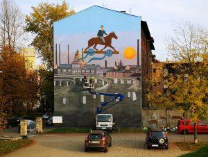 Mural Kutz w Katowicach - Nietak.eu