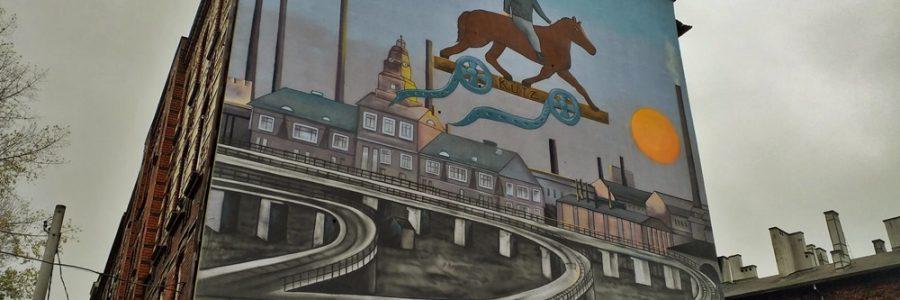 """""""Kutz na kucu"""" – wyjątkowy mural powstał w Szopienicach"""