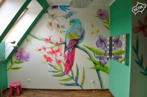 Obraz malowany na ścianie - Nietak.eu