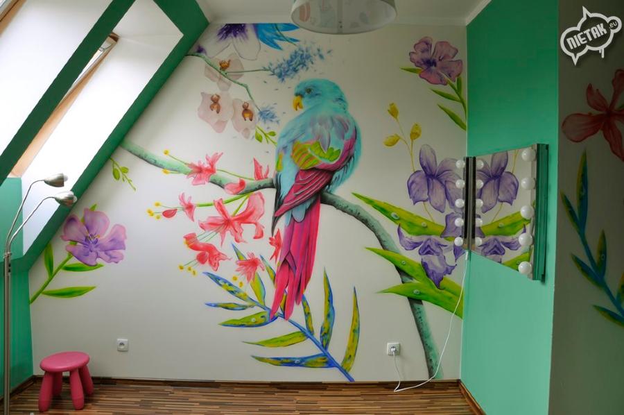 Malowanie obrazów na ścianach - Nietak.eu