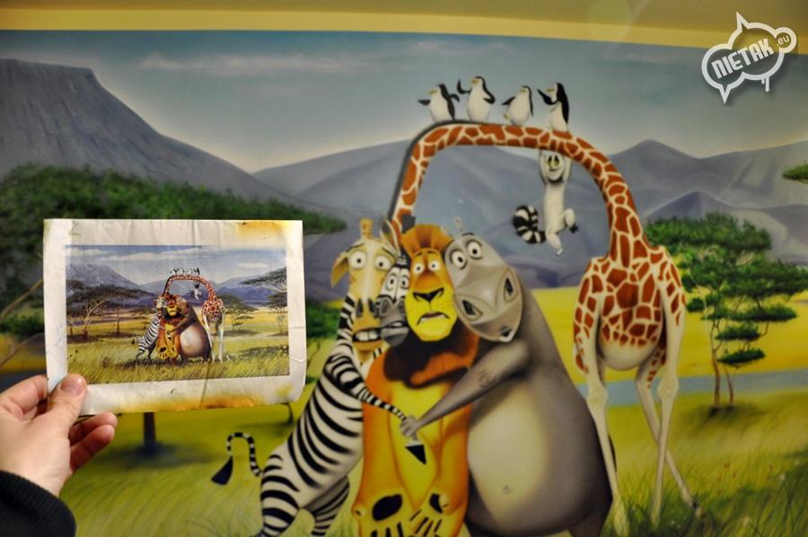 Obrazy malowane na ścianie - Nietak.eu