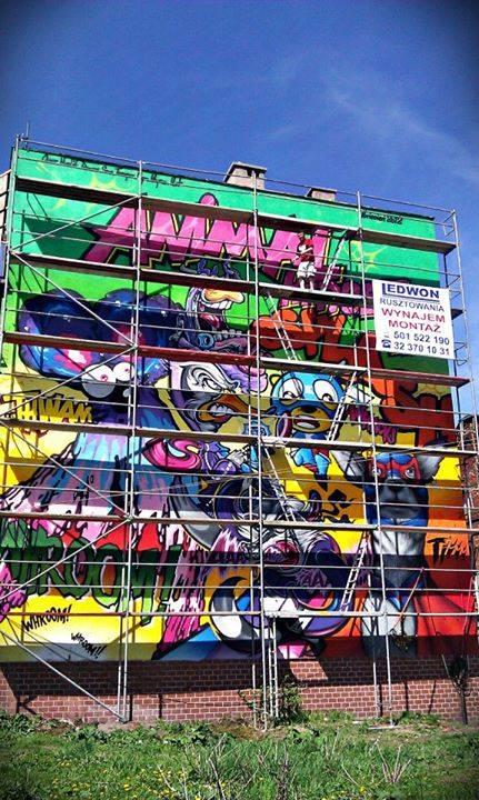 ekomural - mural oczyszczający powietrze