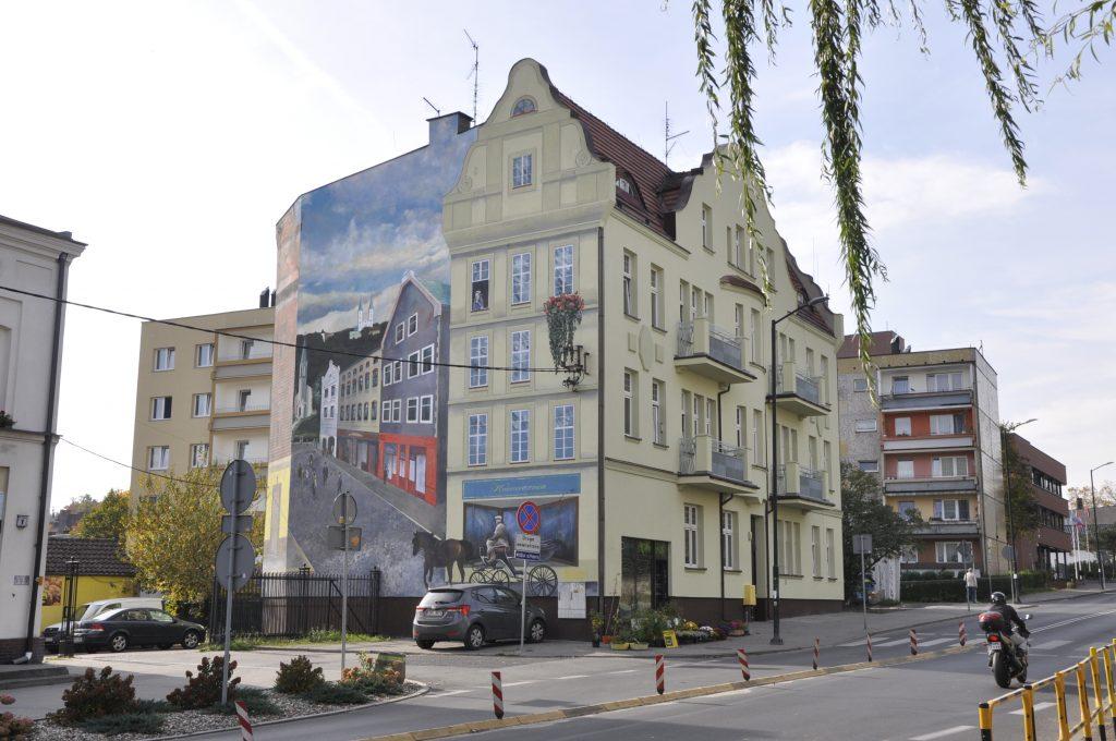 mural antysmogowy na elewacji