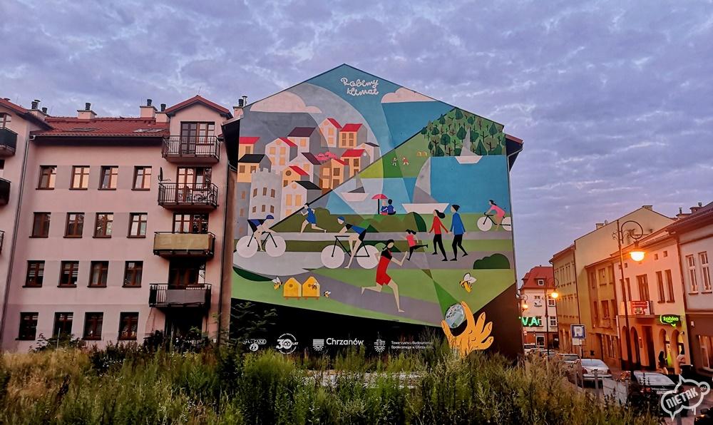 Mural antysmogowy
